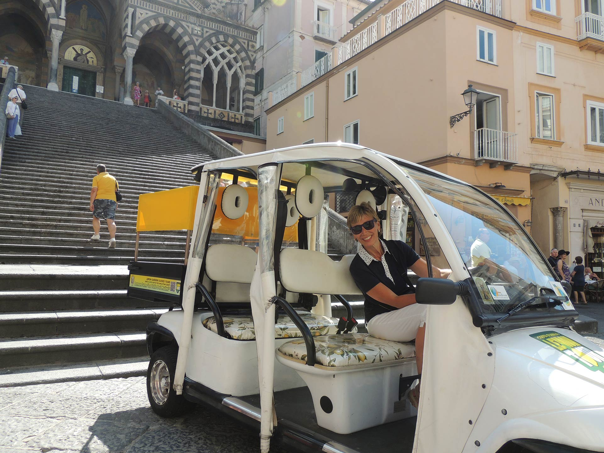 Experience the famous lemon tour of the Amalfi Coast
